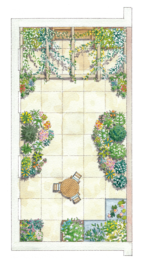 Sunny Garden Illustration_2